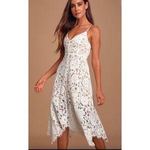 Lulus One Wish White Dress